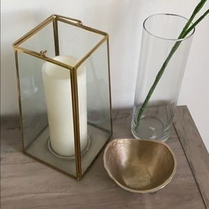 Other - Gold Geometric Latern